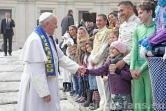 circhi di Roma dal papa 27-01-16 pa
