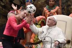 il circo dal papa