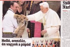 Farina  Emanuele da papa Ratzinger 2003  pa