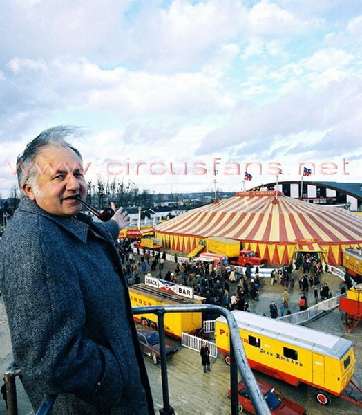 23/12/2001: E' SCOMPARSO JEAN RICHARD - Circusfans Italia