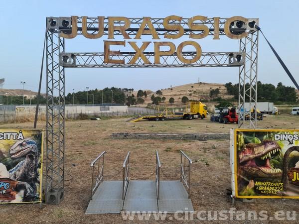 JURASSIC EXPO MARTINI: LE FOTO