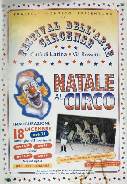 22/12/1999: FESTIVAL CIRCO A LATINA DA IL MESSAGGERO
