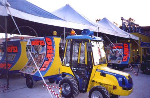 28/12/1999: MALTEMPO AL CIRCO PAOLO ORFEI