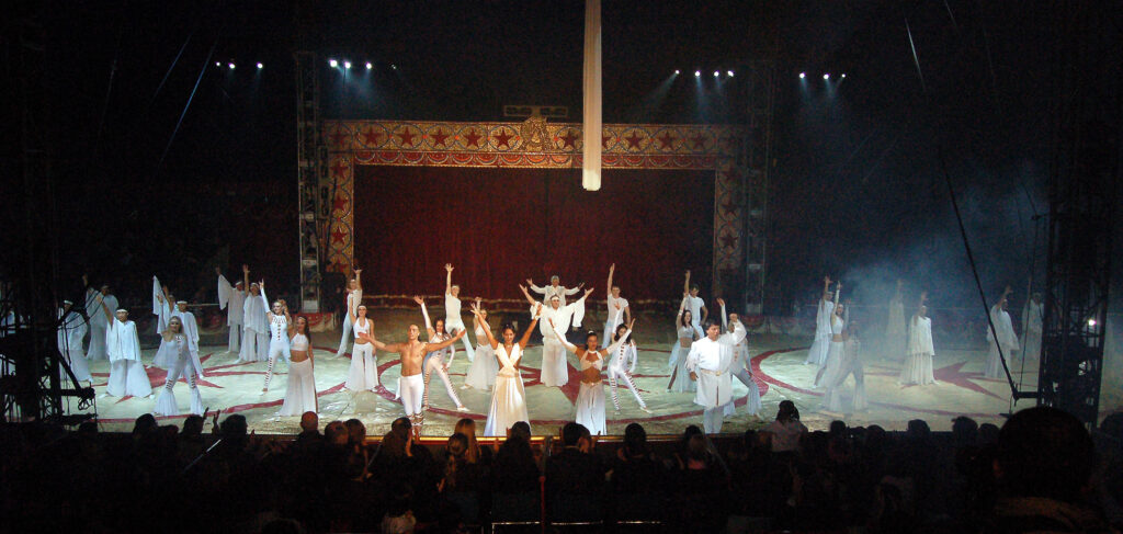 11/12/2001: CIRCO AMERICANO: PROGRAMMA