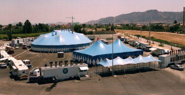 11/12/2001: CIRCO BELLUCCI con le ATTRAZIONI DEL FESTIVAL DI MONTE CARLO: PROGRAMMA