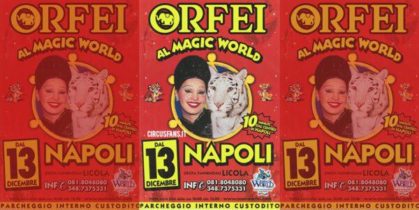 21/12/2002: CIRCO MOIRA ORFEI: Il Programma di Napoli