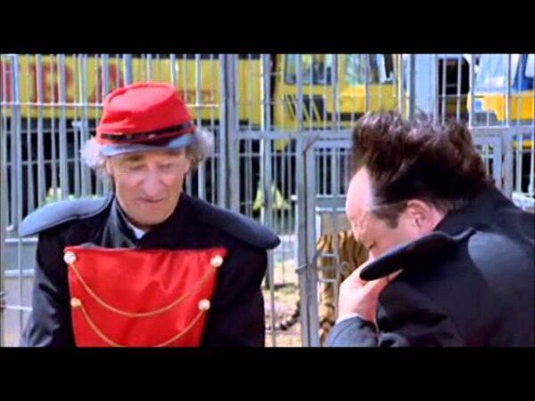 """10/12/2003: Anteprima del Film """"Natale in India"""" al Circo Moira Orfei: foto backstage"""