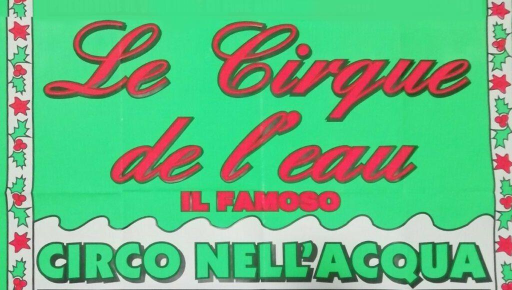 cirque de l'eau bologna