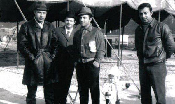 I «signori del circo» salutano Willy