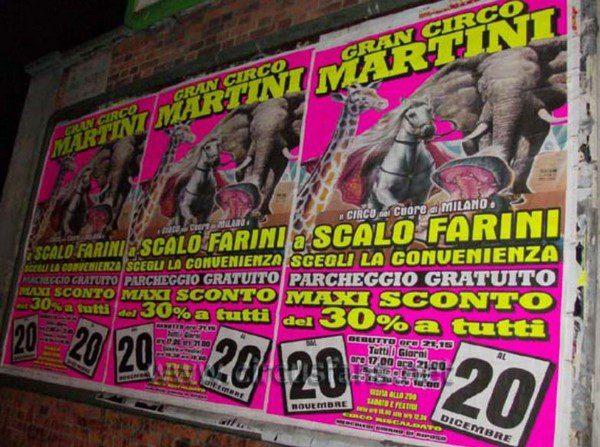 Gran Circo Martini a Milano