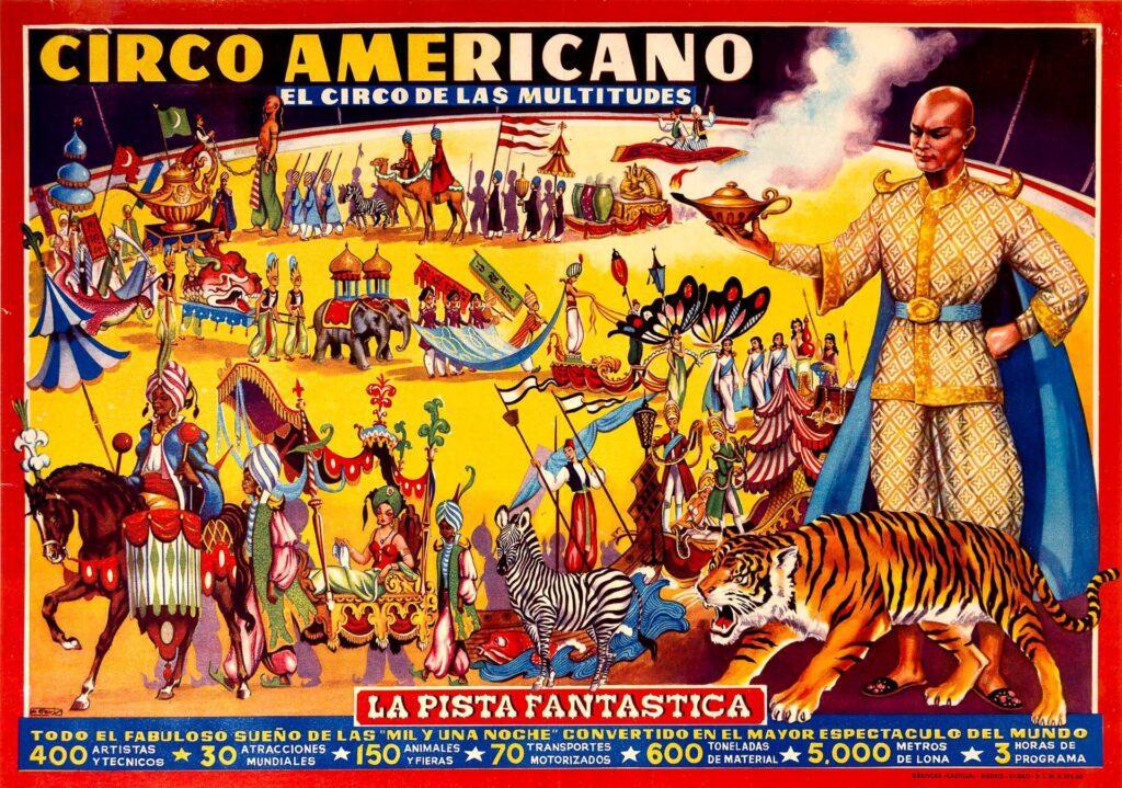 VIDEO: 1955.CIRCO AMERICANO (dir.Fejoo-Castilla) IN SPAGNA