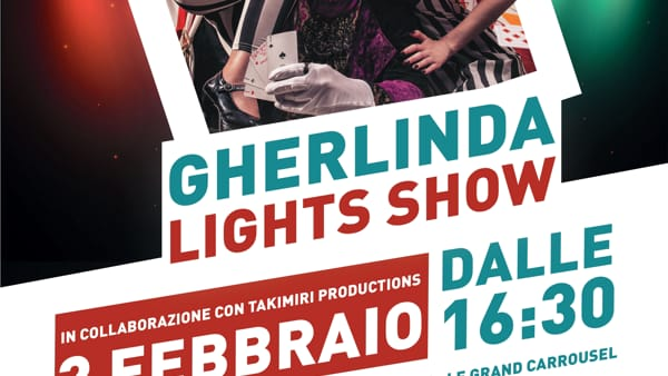 Gherlinda Light Show, al centro commerciale va in scena il circo Eventi a Perugia
