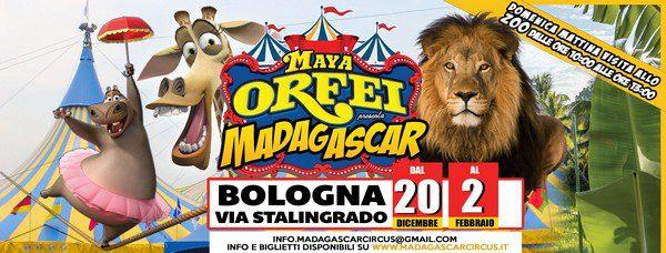 Bologna: affluenza record al Maya Orfei Circo Madagascar