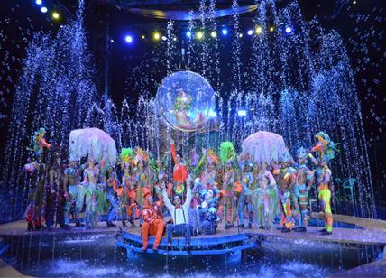Circo acquatico show, romani conquistati: spettacoli fino al 23 febbraio