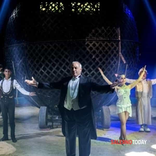 """Il circo """"Lidia Togni"""" arriva a Salerno: show e solidarietà"""