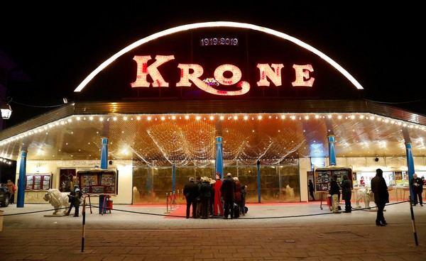 Krone Bau la facciata
