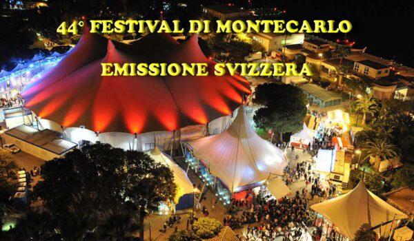 44° FESTIVAL DI MONTECARLO – IL CIRCO ENTRA IN CASA