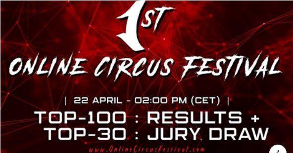 1° ONLINE CIRCUS FESTIVAL – ANNUNCIO TOP 30