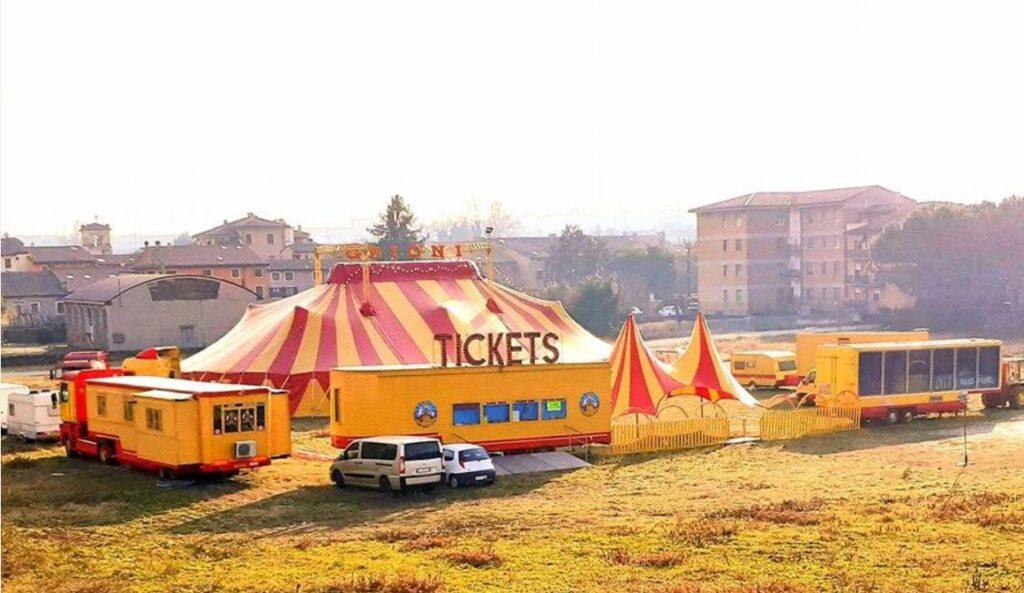 Circo GRIONI famiglia Marco Grioni