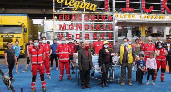 Lions Club Messina al Circo M. Orfei