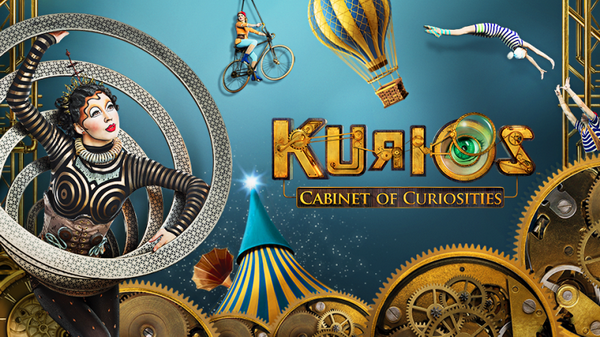 SPOTLIGHT ON KURIOS CABINET OF CURIOSITIES | Cirque du Soleil – IL CIRCO ENTRA IN CASA