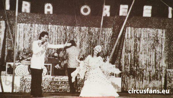 sandro ravagnani circo moira orfei 1979