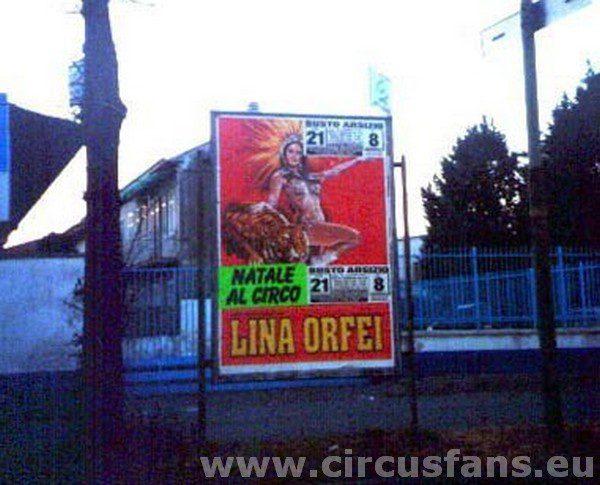 Circo Lina Orfei fam. Carbonari