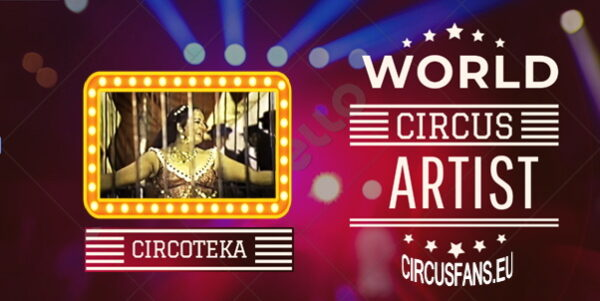 ARLETTE GRUSS Circo di Barcellona 1971 (fam. Casartelli) – WORLD CIRCUS ARTIST