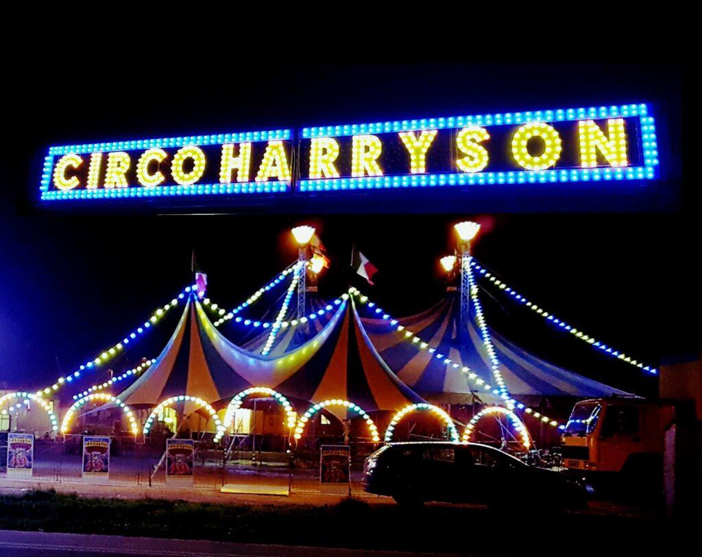 Arriva il circo Harryson residenti preoccupati