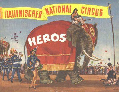 IL CIRCUS HEROS (Togni) NEL 1964 IN GERMANIA: il Video