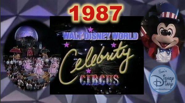 WALT DISNEY WORLD CELEBRITY CIRCUS 1987 – IL CIRCO ENTRA IN CASA