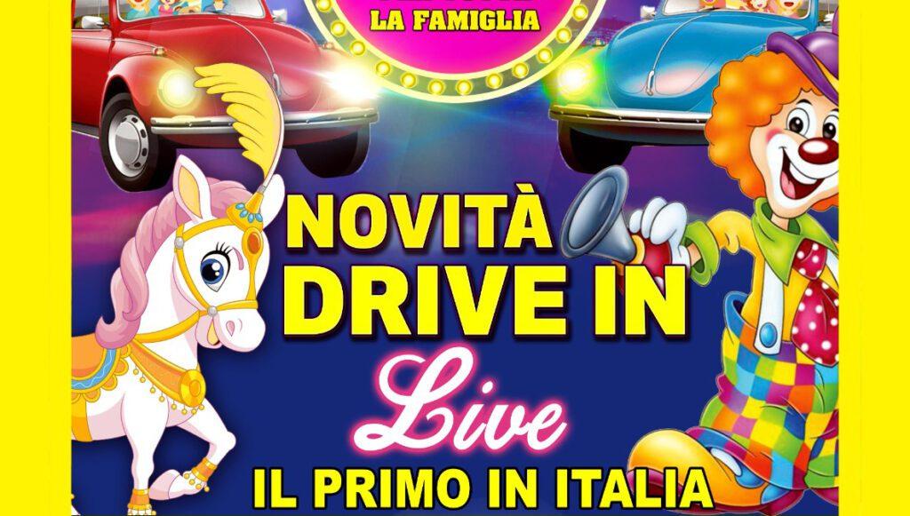 """RINVIATO IL TOUR """"DRIVE IN"""" DEL CIRCO LIDIA TOGNI"""
