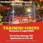 Il Circo Takimiri domani sera a Porto San Giorgio