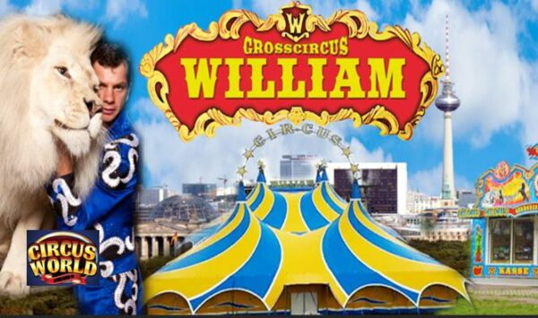 CIRCUS WILLIAM (D) – CIRCUS WORLD AFTER COVID19