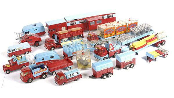 MODELLISMO CIRCENSE: Corgi Toys Circus