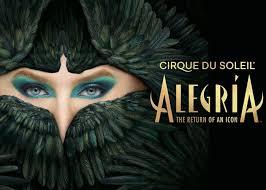 SPOTLIGHT ON ALEGRIA | Cirque du Soleil – IL CIRCO ENTRA IN CASA