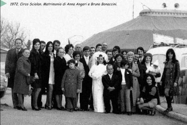 Matrimonio Bruno Bonaccini e Anna Angari