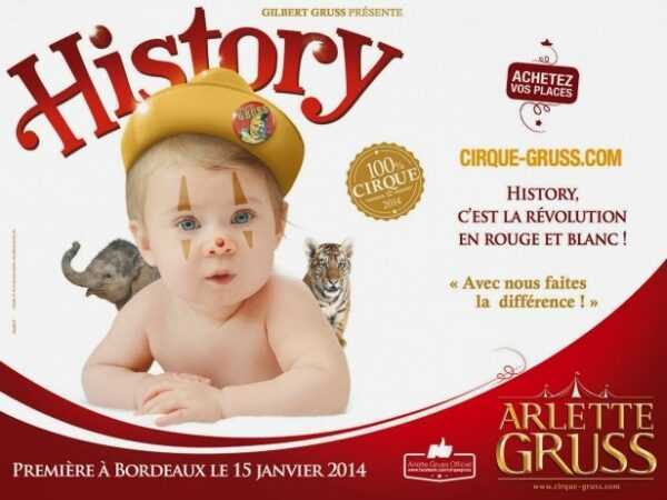 """ARLETTE GRUSS """"HISTORY"""" – IL CIRCO ENTRA IN CASA"""