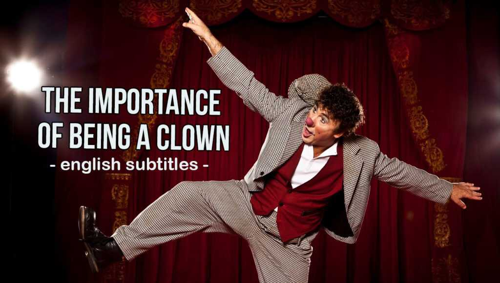 """David Larible's video interview (with english subtitles) """"The Importance of being a Clown"""""""