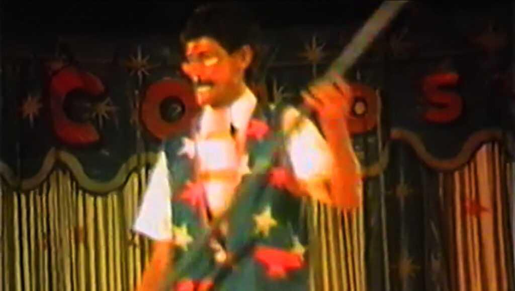 """VALTER VASSALLO AL """"BAL DI CORDA"""": Il Video (Circo Colosseo, 1987)"""