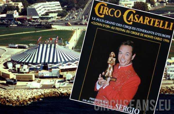 CINETECA GUIDERI: CIRQUE CASARTELLI IN FRANCIA 1997