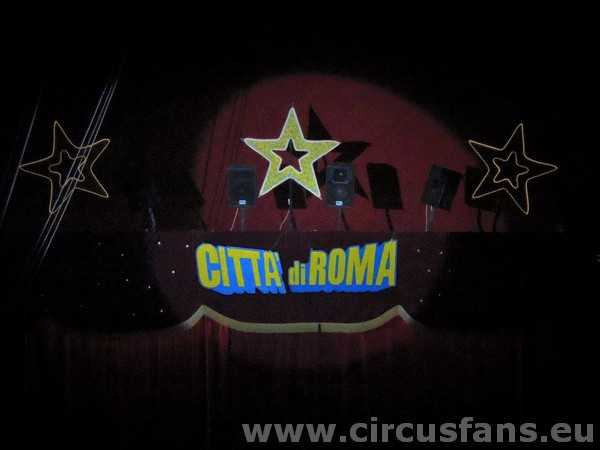 CIRCO CITTA' DI ROMA: le foto dello show per la Svizzera