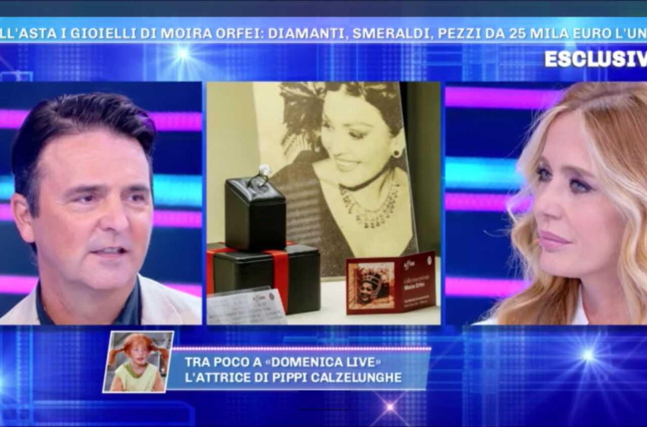 L'ASTA DEI GIOIELLI DI MOIRA A DOMENICA LIVE: Il Servizio