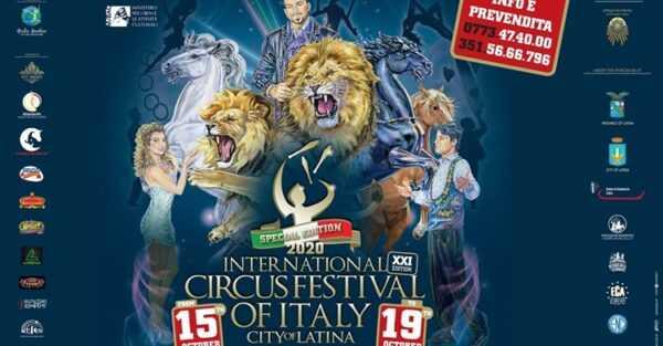 FESTIVAL DEL CIRCO D'ITALIA CITTA' DI LATINA