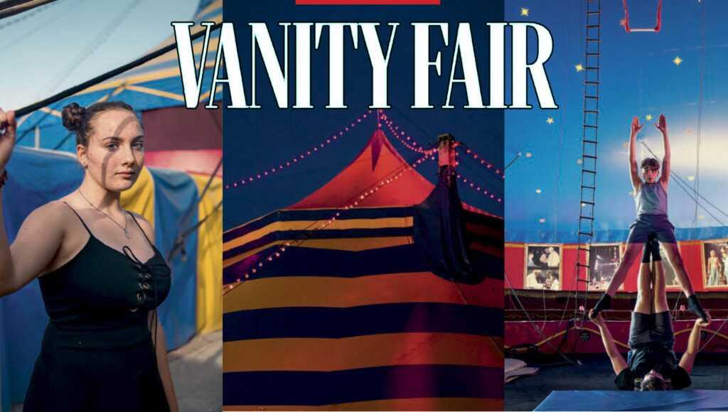 """Un circo di amici (da """"Vanity Fair"""")"""