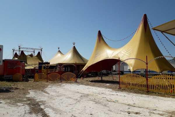 Circo Marina Orfei fermo a Trani