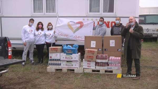 Circo Medrano continua la catena della solidarietà