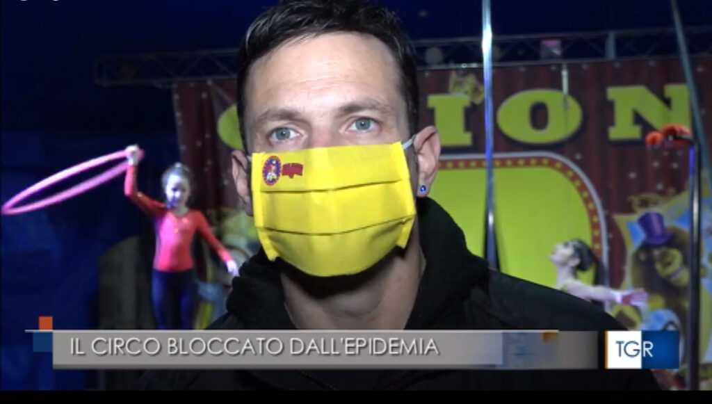 """L'APPELLO DEL CIRCO GRIONI AL TGR: """"Fateci lavorare!"""" (Video)"""