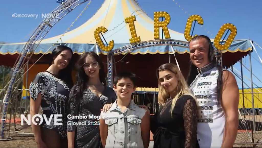 """TV: """"CAMBIO MOGLIE"""" AL CIRCO MADAGASCAR CON IL DUO FERRANDINO"""