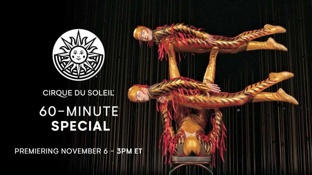 Cirque du Soleil 60 min special
